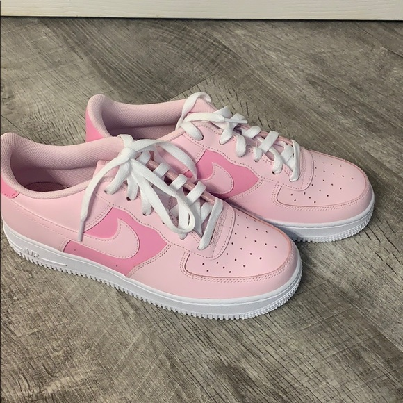 Nike Shoes | Pink Air Force 1s | Poshmark